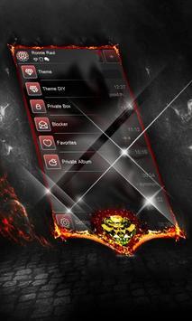 Blood SMS Layout apk screenshot
