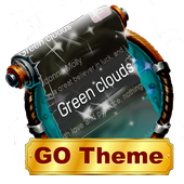 Green clouds SMS Layout icon