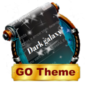 Dark galaxy SMS Layout icon