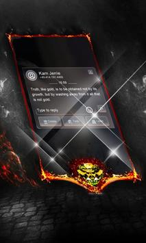 Dark galaxy SMS Layout screenshot 10