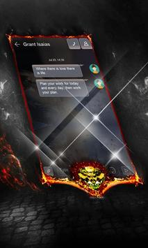 Dark galaxy SMS Layout screenshot 1