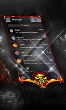 Dark galaxy SMS Layout screenshot 4