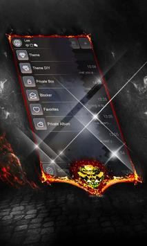 Dark galaxy SMS Layout screenshot 7