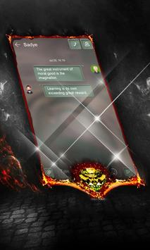 Electric battle SMS Layout apk screenshot