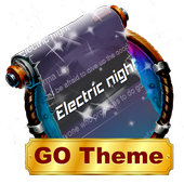 Electric night SMS Layout icon