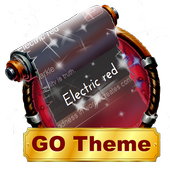 Electric red SMS Layout icon