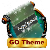 Foggy green SMS Layout icon