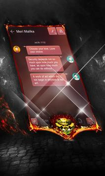 Foggy red SMS Layout screenshot 1