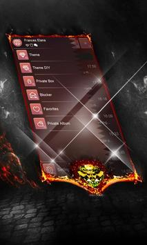 Foggy red SMS Layout screenshot 3
