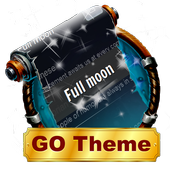 Full moon SMS Layout icon