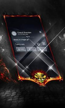 Full moon SMS Layout apk screenshot