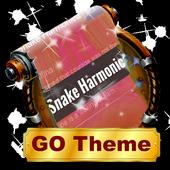 Snake Harmonica SMS Layout icon