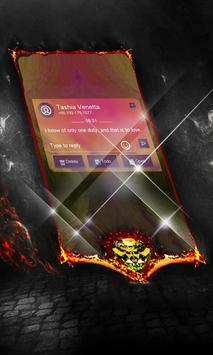 Snake Harmonica SMS Layout apk screenshot