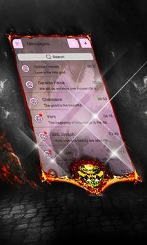 Satellite Answer SMS Layout apk screenshot