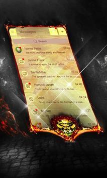 Shining Ladybug SMS Layout poster