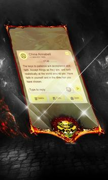 Shining Ladybug SMS Layout apk screenshot
