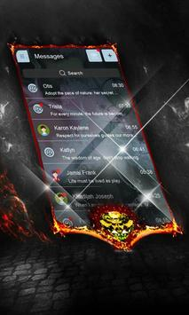 Spiral Domino SMS Layout apk screenshot