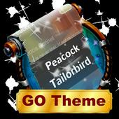 Peacock Tailorbird SMS Layout icon