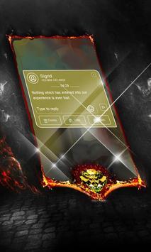Peacock Tailorbird SMS Layout apk screenshot