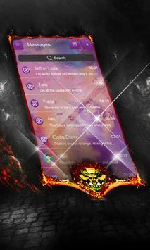 Red Voices SMS Layout poster
