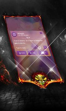 Red Voices SMS Layout apk screenshot