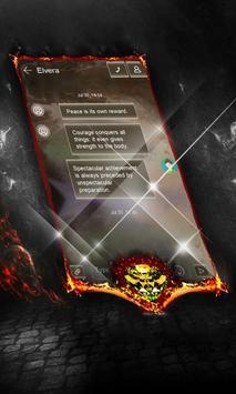Wolf Albatross SMS Layout apk screenshot