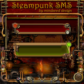 Steampunk GO SMS Theme icon