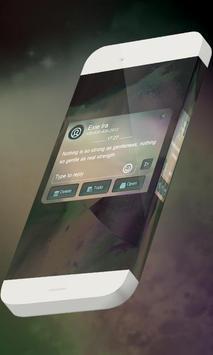 Neon sky S.M.S. Skin apk screenshot