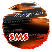 Orange lava S.M.S. Skin icon