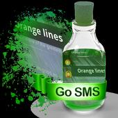 Orange lines S.M.S. Skin icon