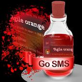Agile orange S.M.S. Skin icon