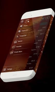 Agile orange S.M.S. Skin apk screenshot