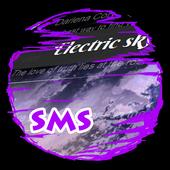 Electric sky S.M.S. Skin icon