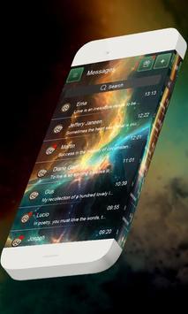 Galaxy S.M.S. Skin poster