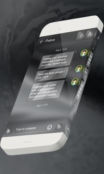 Grey S.M.S. Skin apk screenshot