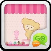 GO SMS Pro Pink Sweet theme icon