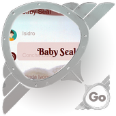 Baby Seal GO SMS icon