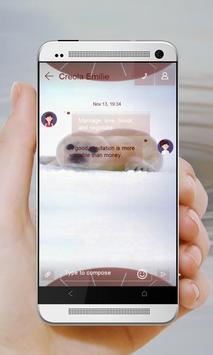 Baby Seal GO SMS apk screenshot
