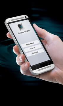 Blue gator GO SMS poster