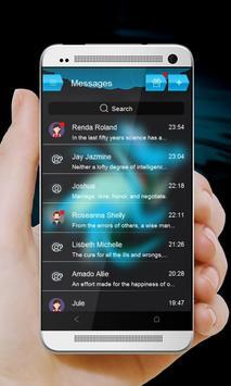 Blue gator GO SMS apk screenshot