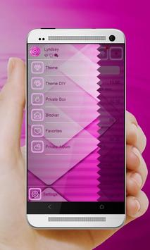 Brilliant Pink GO SMS screenshot 4