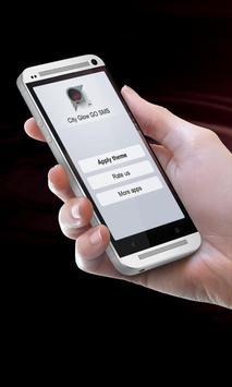 City Glow GO SMS apk screenshot