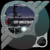 City investigator GO SMS icon