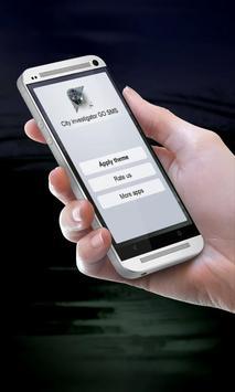 City investigator GO SMS apk screenshot