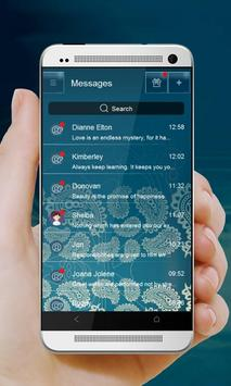 Classic Pattern GO SMS apk screenshot