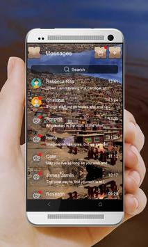 Crowded city GO SMS apk screenshot