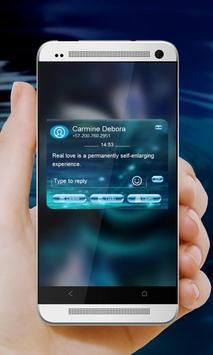 Crystal Unicorn GO SMS screenshot 12