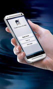 Crystal Unicorn GO SMS screenshot 9