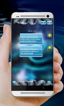 Crystal Unicorn GO SMS screenshot 2