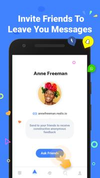 Realis - Ask Friends & Get Anonymous Answers apk screenshot